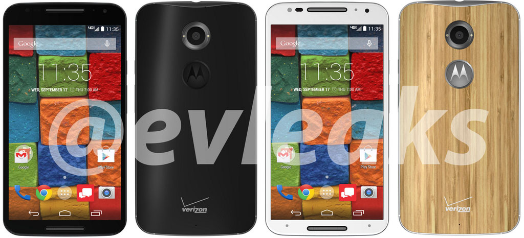 Motorola Moto X+1 @evleaks